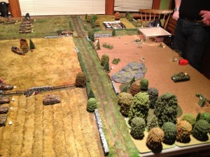 Panzer Grenadiers Advance