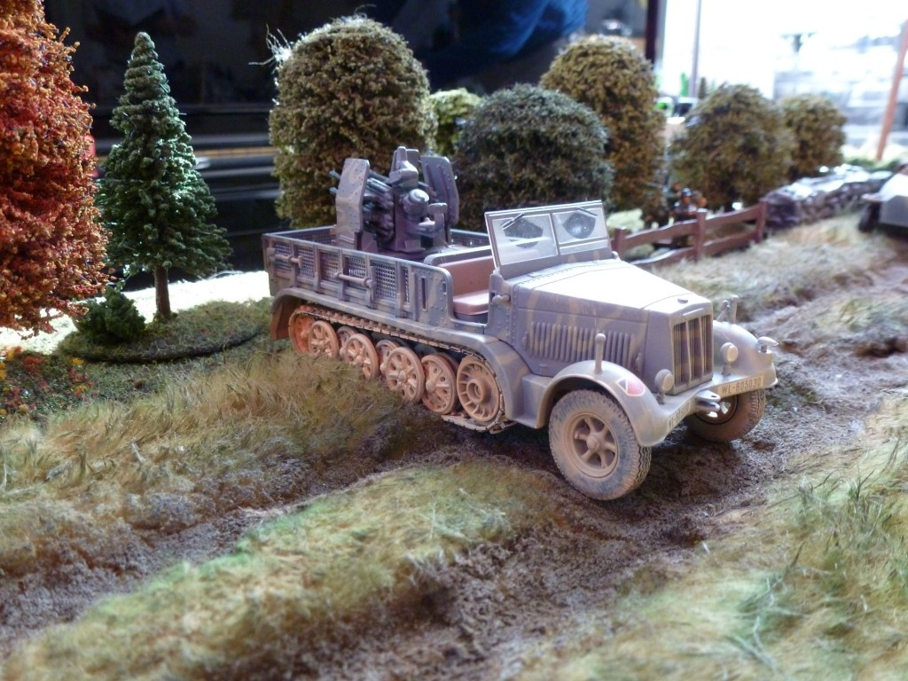 Halftrack with Quad AA
