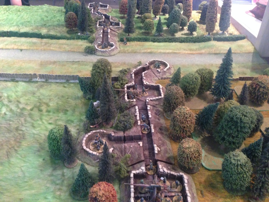 The German Pak Front awaits the British attack.