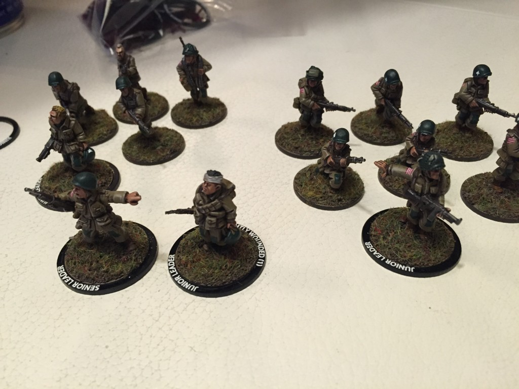 US Paratroopers with Leader Rings.