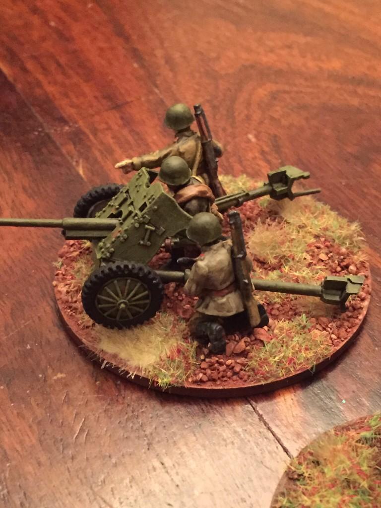Soviet AT Gun