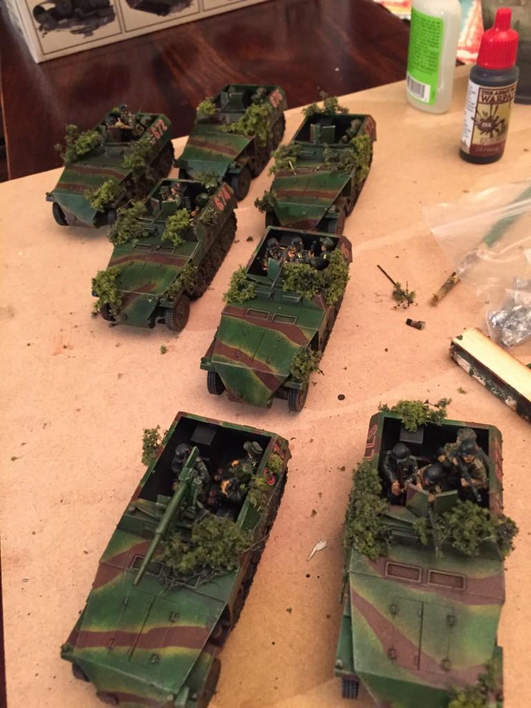 Sdkfz 250 (Neu) Platoon