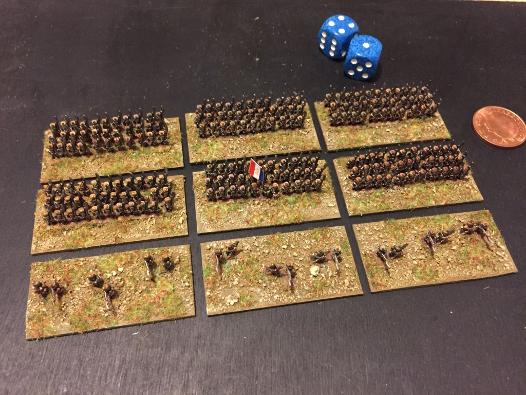 6mm French in Attack Column
