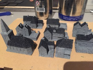 Dark Grey for slate roofs